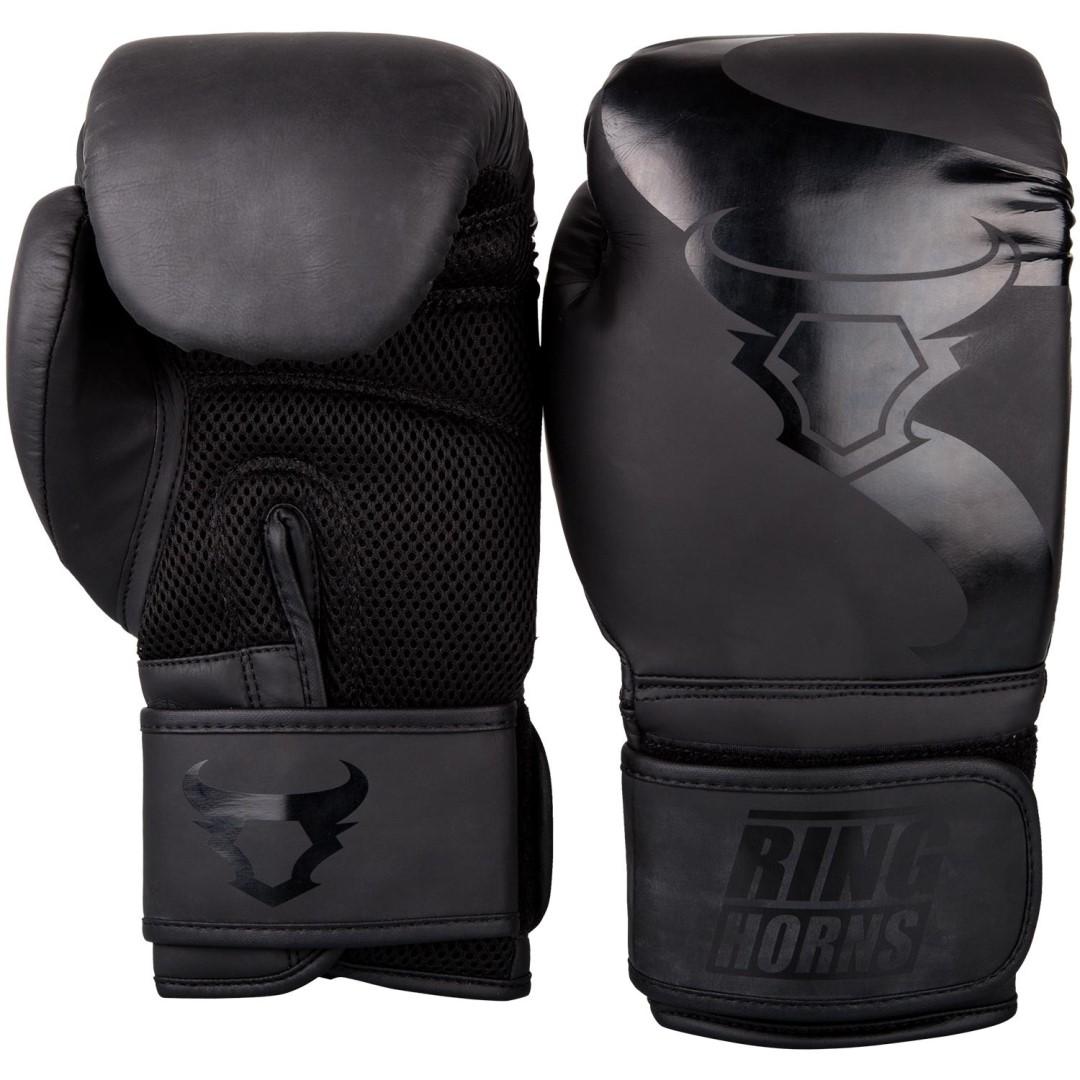 2d5cd759d4f Boxerské rukavice RingHorns Charger matná černá - JEMASPORT