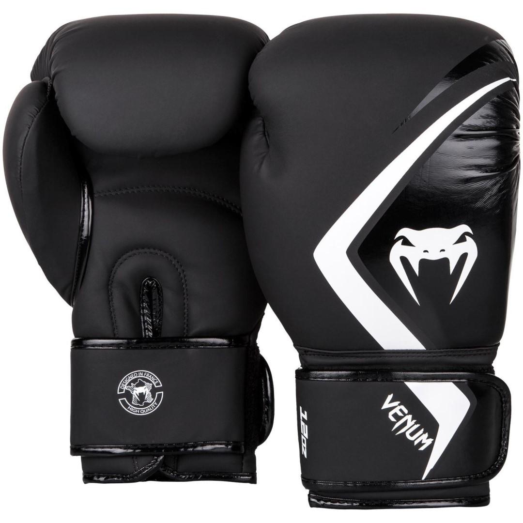 cacbeda65d Boxerské rukavice Venum Contender 2.0 černo-bílá - 16oz - JEMASPORT