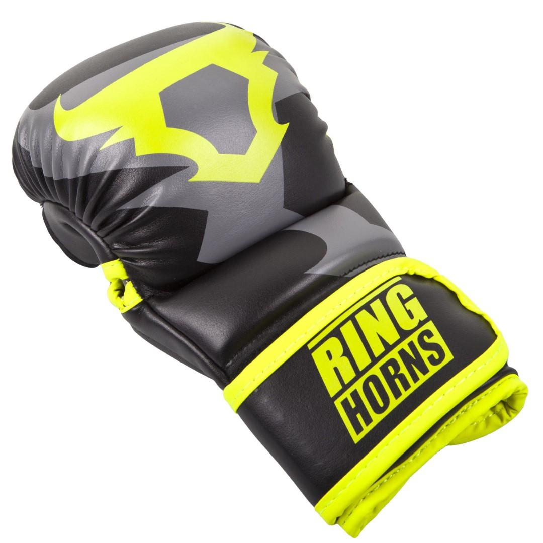 55f5d27abbb MMA rukavice Ringhorns Charger Sparring černo - Neo žlutá - L XL ...