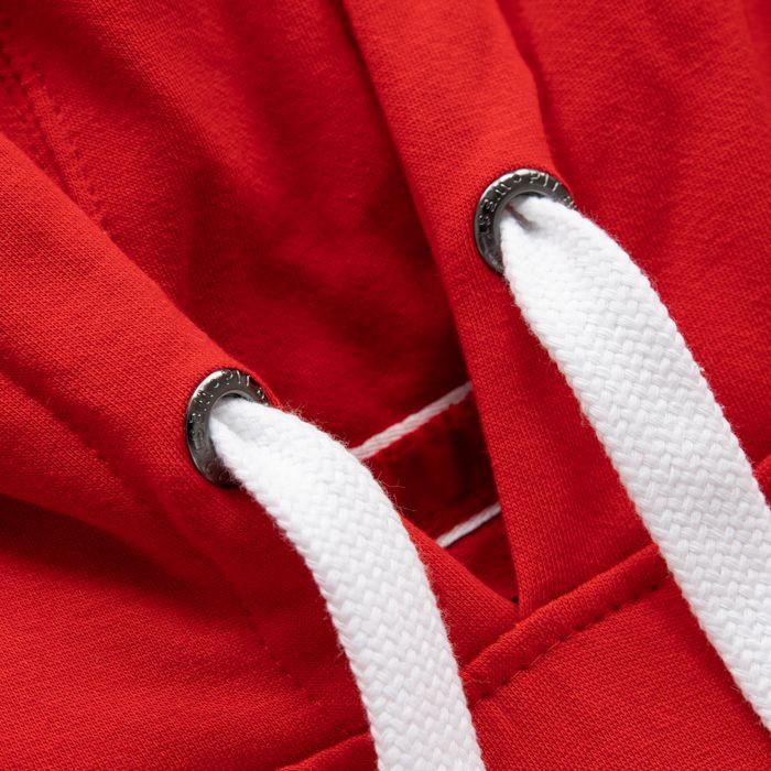 Dámská mikina Pitbull West Coast Oldschool červená - XL - JEMASPORT 960c03525dd