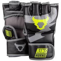 12260c5c70f MMA rukavice Ringhorns Charger černo - Neo žlutá