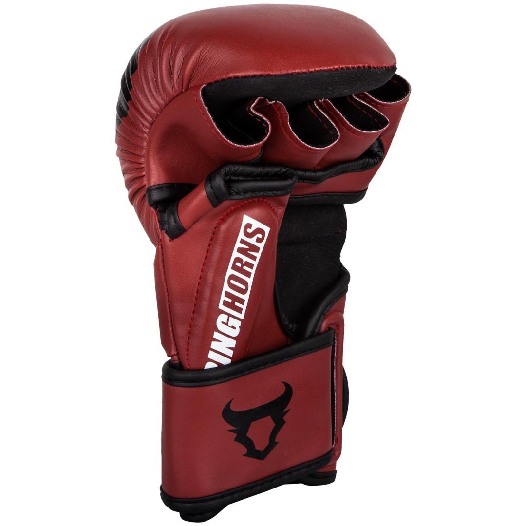 750c94fae6c MMA rukavice Ringhorns Charger Sparring červená - JEMASPORT
