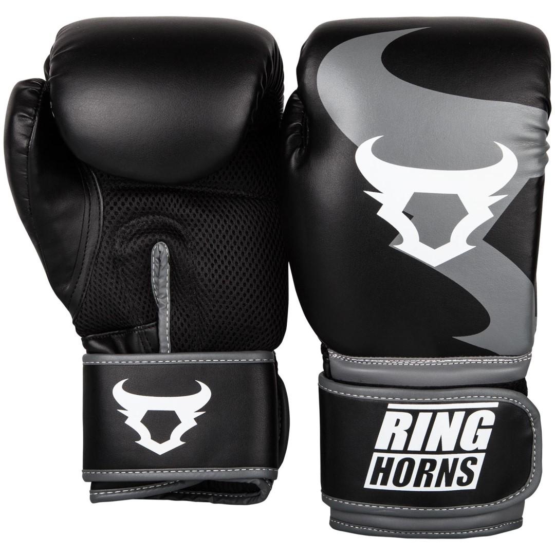 8fe7a75b795 Boxerské rukavice RingHorns Charger černá - JEMASPORT