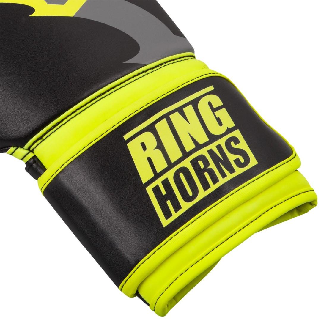 562442b8ba8 Boxerské rukavice RingHorns Charger černo-žlutá - JEMASPORT