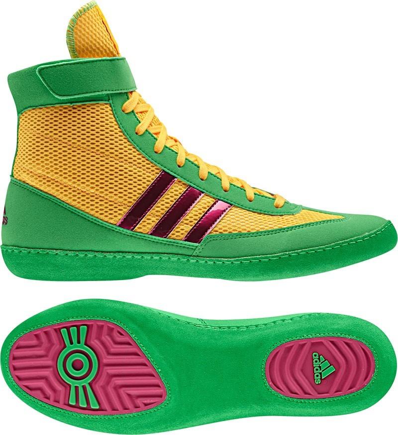 Zápasnické boty adidas Combat Speed 4 žluto zelená bae239e7026