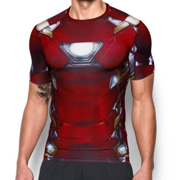 Funkční tričko Under Armour Iron Man - JEMASPORT 21d1d588586