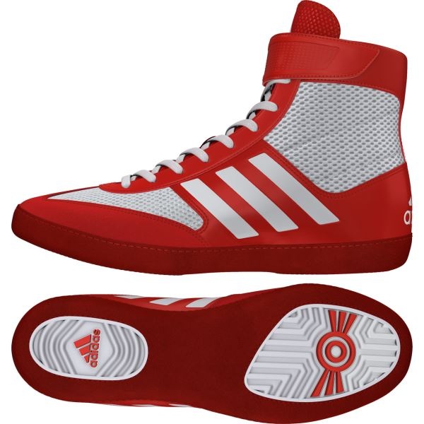 Zápasnické boty adidas Combat Speed 5 červená aecba26b2c0