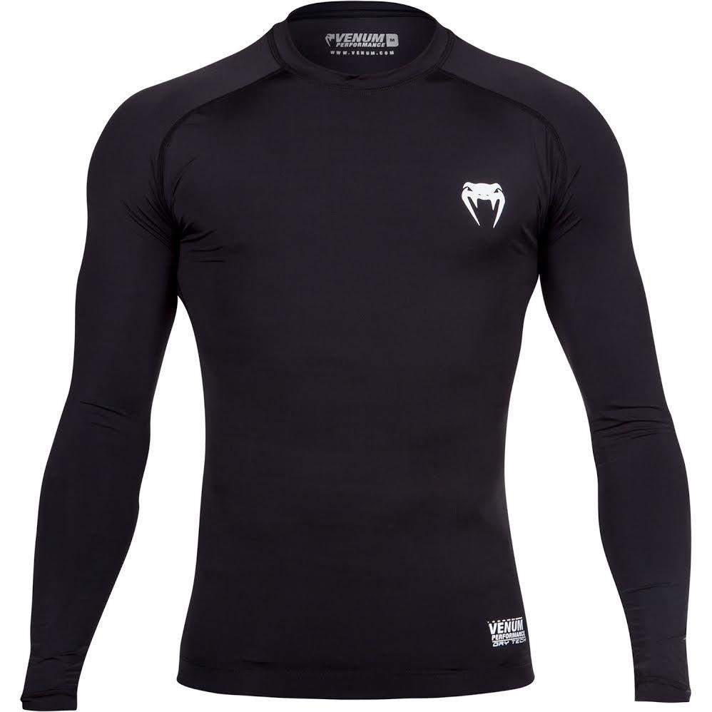 03ac3ccc4a Kompresní tričko Venum Contender 2.0 dlouhý rukáv černá - JEMASPORT