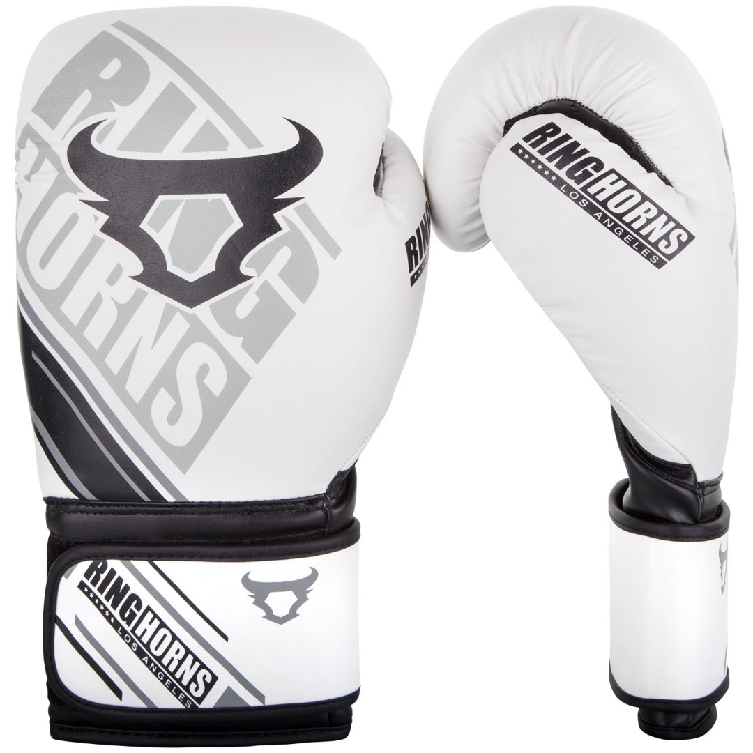 10b72ffdde4 Boxerské rukavice RingHorns Nitro bílá - JEMASPORT