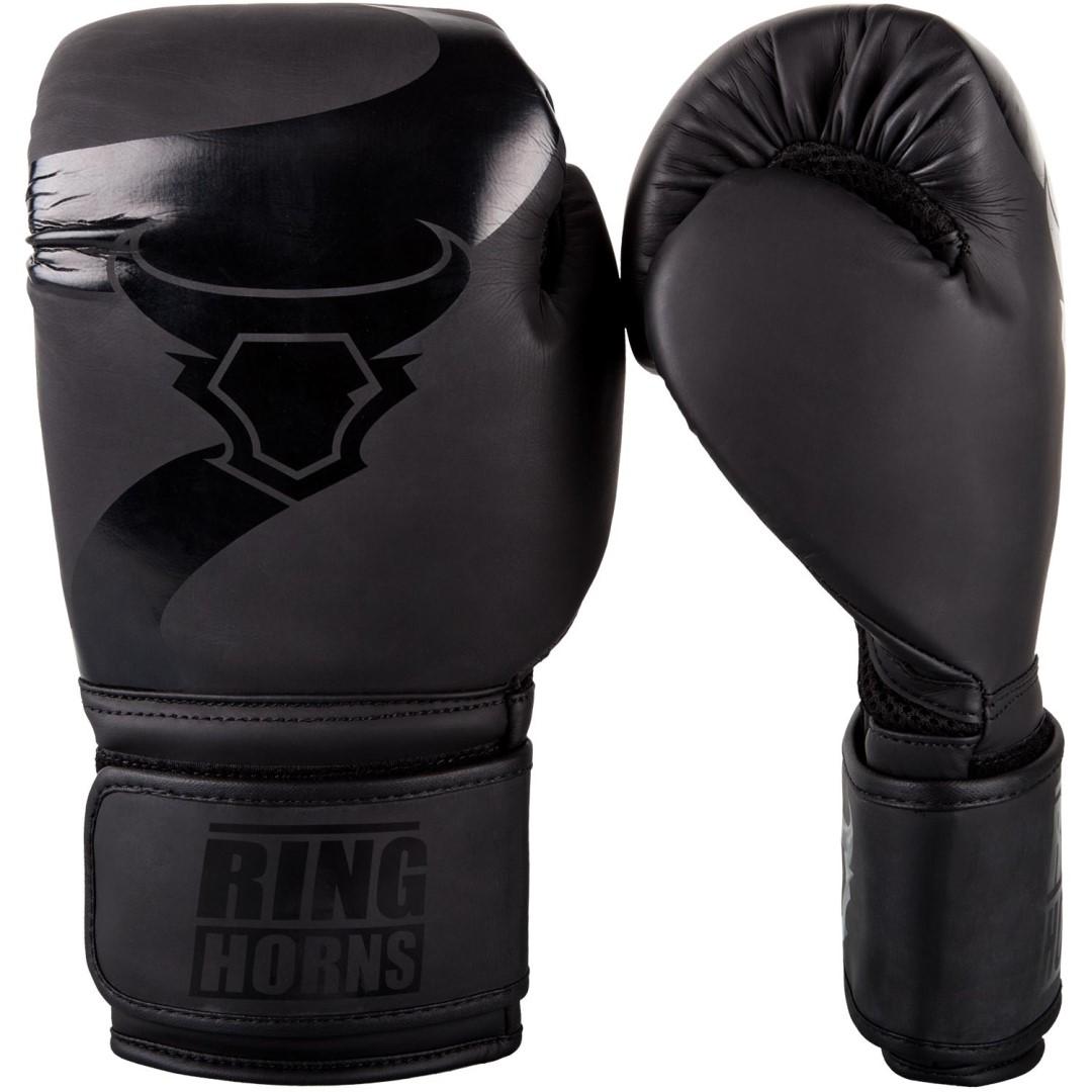 Boxerské rukavice RingHorns Charger matná černá - JEMASPORT d57bf0c082