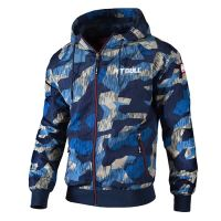 Letní bunda Pitbull Athletic 7 blue camo