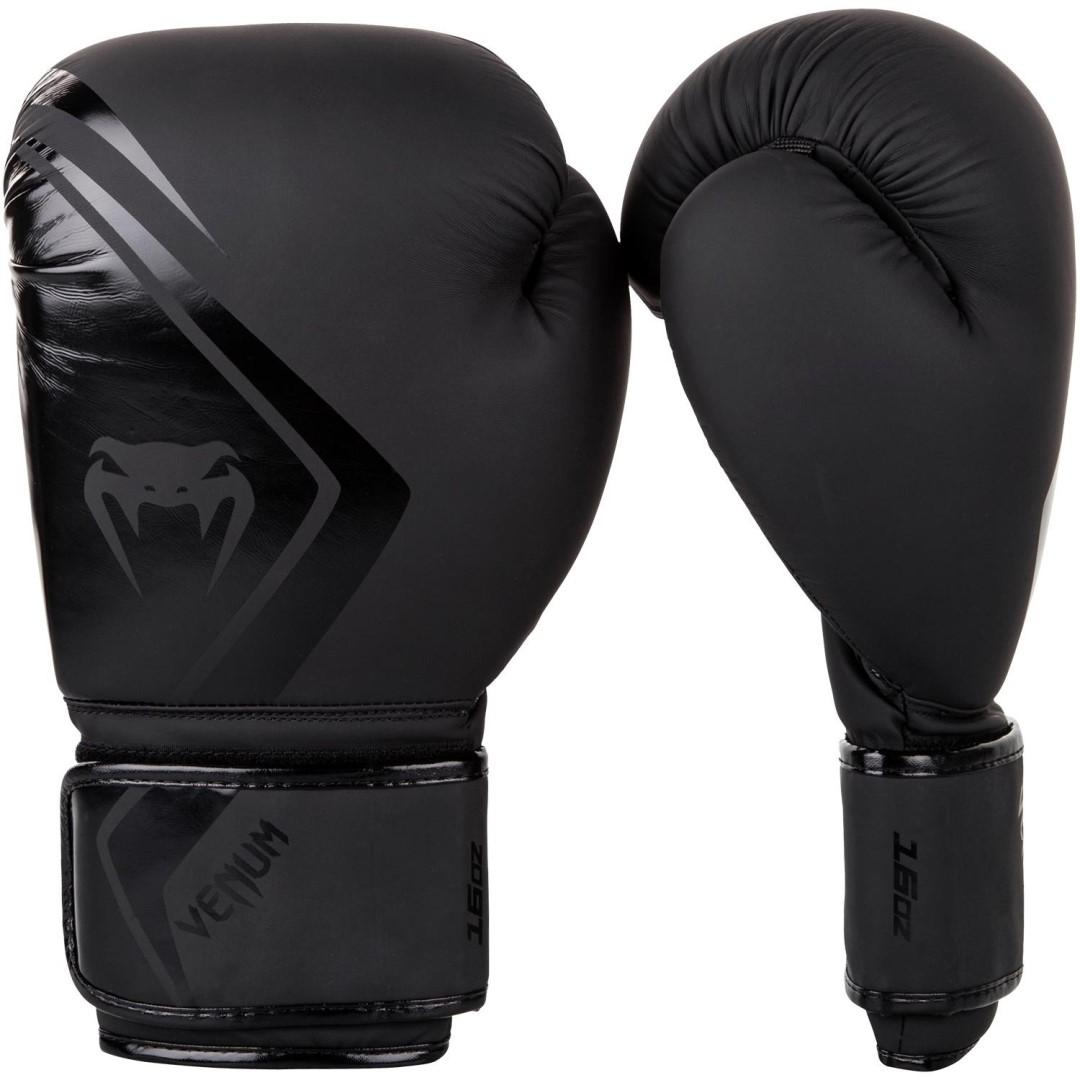 7d40b2558d Boxerské rukavice Venum Contender 2.0 matná černá - JEMASPORT