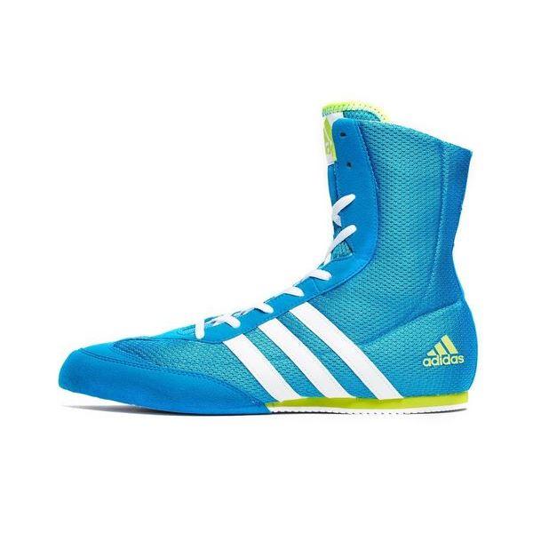 Boxerské boty adidas Box Hog 2 modrá bedb604ffc3